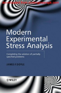 MODERN EXPERIMENTAL STRESS ANALYSIS