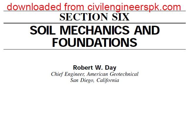 Basic soil mechanics pdf books to read online for free for Soil mechanics pdf
