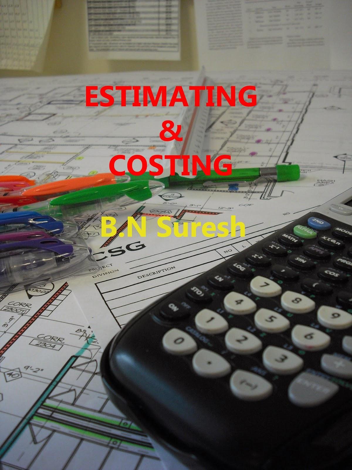 Costing and estimation books civil engineers pk for Civil construction estimate calculator
