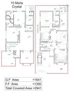 10 marla house plans civil engineers pk House map drawing images