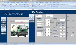 Excel Sheets Mix Design