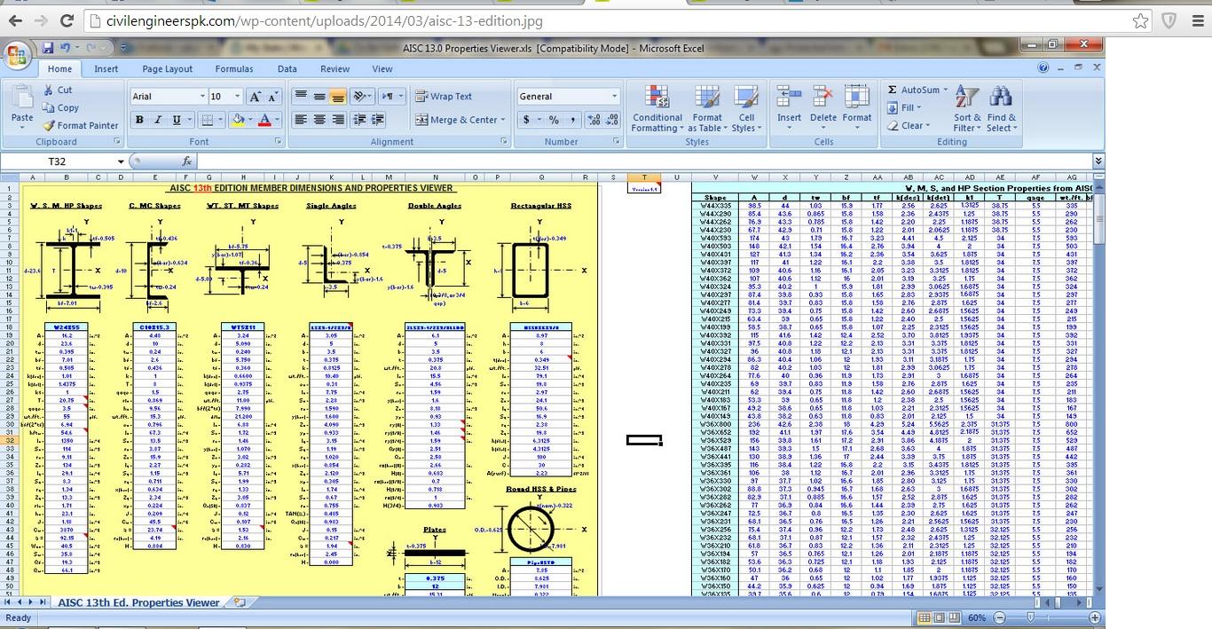 civil engineering spreadsheets