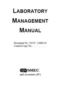 Laboratory Management Manual