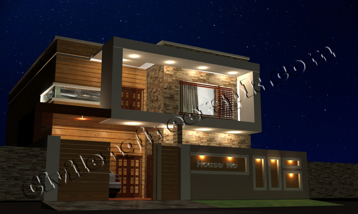 New 10 marla house design civil engineers pk for Design in the house