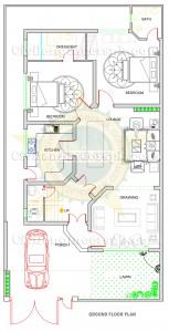 10 Marla House Plans – Civil Engineers PK