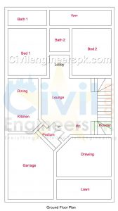 New 6 Marla House Plans