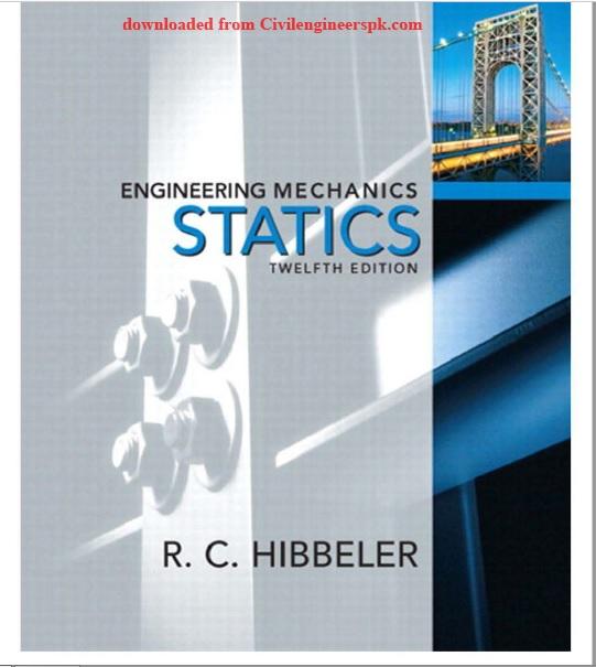 vector mechanics for engineers statics 11th edition solutions manual pdf