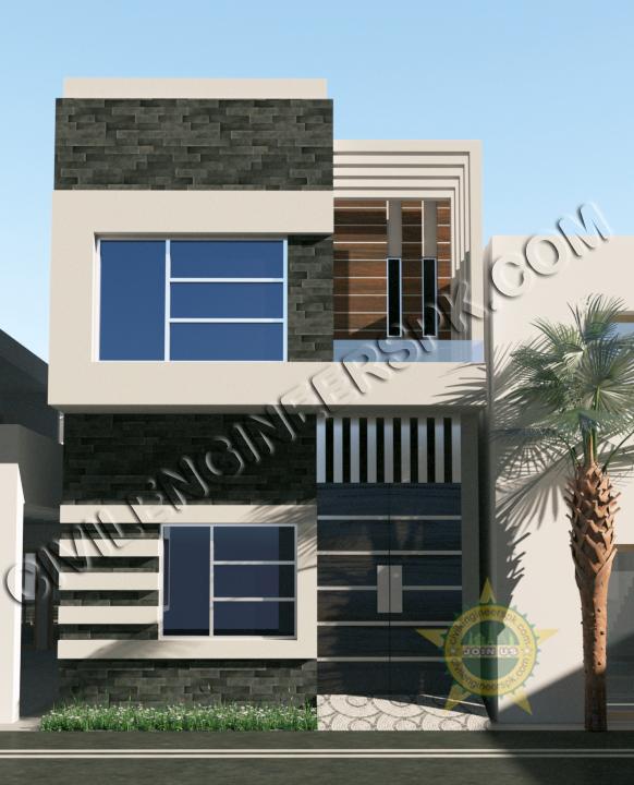 new 3 marla house design for mr abrar   civil engineers pk