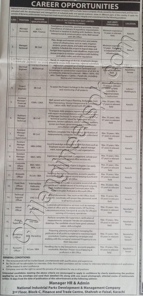sunday jobs civilengineerspk 3-3-2019